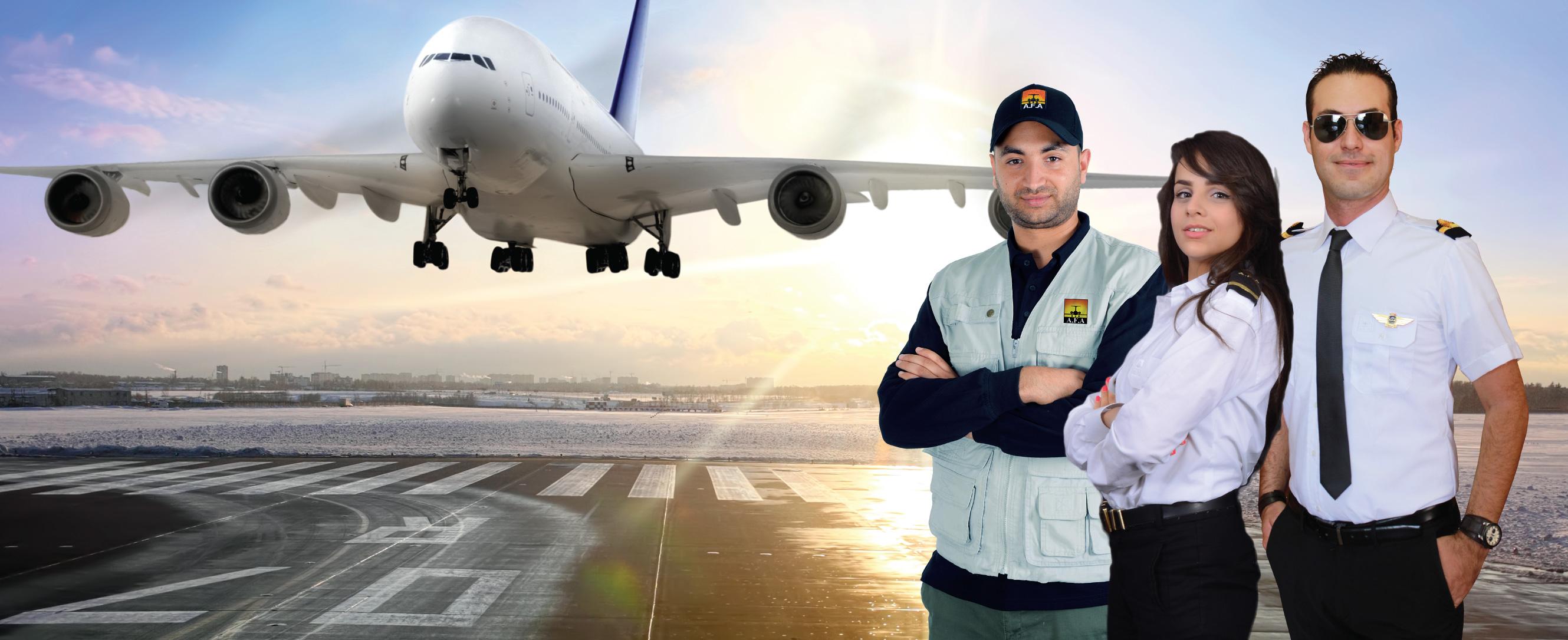 Airline Flight Academy, première école d'aéronautique en Tunisie et en Afrique. Aviation, pilote de ligne, mécanicien, avion, chef Avion, Agent technique d'exploitation, AFA, diplôme ICAO, diplôme EASA, européen, internationale